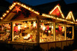 Zdjęcia na płótnie, fototapety, obrazy : Verkaufsstand am Weihnachtsmarkt