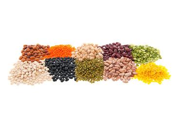 Assortment legumes