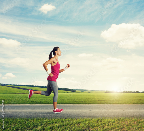 runner woman jogging
