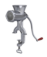 Classic meat grinder