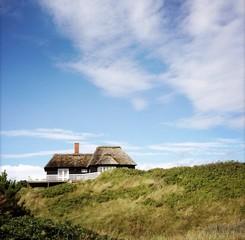 Haus in den Dünen