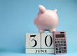 Calendar date for End of Financial Year, 30 June - 57003323
