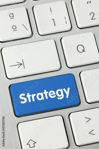 Strategy keyboard key