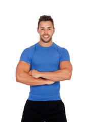 Muscular personal trainer