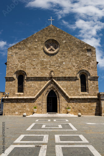 Metropolitan Cathedral of  Rhodes, Greece