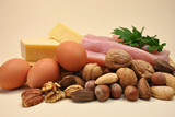 Healthy Diet food group - Protein foods