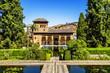 Partal Palace in La Alhambra in Granada, Spain - 57006749