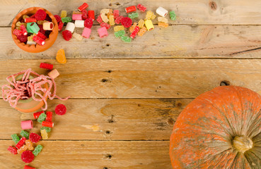 Autumn paty background