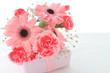 プレゼントと花束