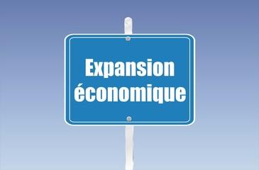 panneau expansion économique