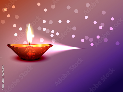 vector happy diwali design