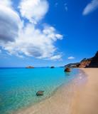 Fototapety Ibiza Aigues Blanques Aguas Blancas Beach at Santa Eulalia
