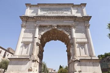 Arco de Tito. Foro de Roma