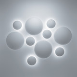 Abstract 3d geometric background with spheres - 57014989