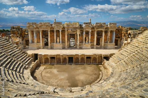 Hierapolis theater 2013