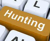 Hunting Key Means Exploration Or Searching.