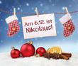 Am 6.12. ist Nikolaus