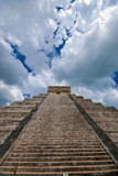 Stairs to heaven - Chichen itza in Mexico