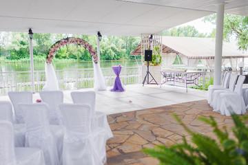 Elegant banquet hall