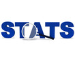 Stats Word Shows Statistics Report Reports Or Analysis