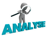 Analyse Character Shows Investigation Analysis Or Analyzing