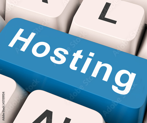 Hosting Key Means Host Or Entertain.