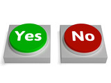 Yes No Buttons Shows Validation Or Check