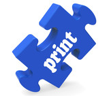 Print Key Shows Printing Copying Or Printout