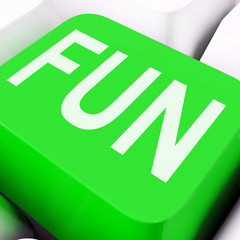 Fun Key Means Exciting Entertaining Or Joyful.