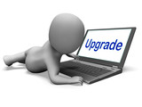Upgrade Character Laptop Means Improving Upgrading Or Updating