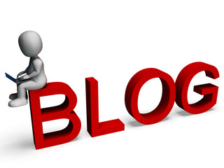 Blog Media Shows Weblog Website