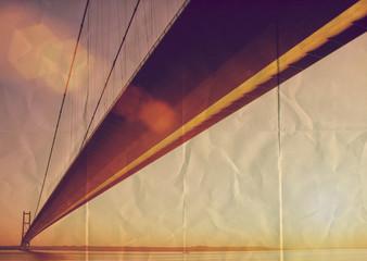 paper texture bridge