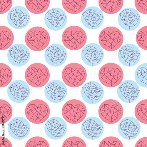 abstract seamless pattern