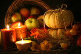 Thanksgiving harvest background