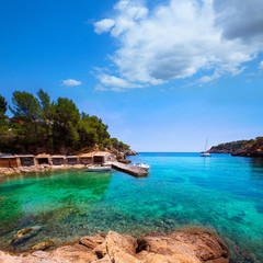 Ibiza Cala Mestella Mastella in Santa Eulalia