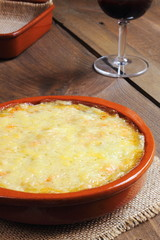Potato gratin, French Gratin Dauphinois