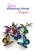 Solar powered butterflies customizable