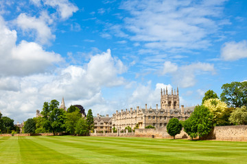 Merton College in Oxford