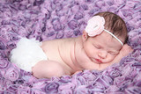 beautiful baby girl - newborn