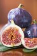 Gesunde Ernährung, Feigensaison, leckeres Fruchtfleisch