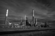 Infrared oil refinery