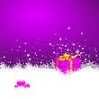 Hintergrund, Eisblumen, Schneeflocke, Geschenk, Weihnachten