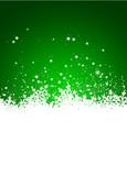 Hintergrund, Eisblumen, Schneeflocke, Eis, Design, Grün, Winter