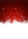 Hintergrund, Eisblumen, Schneeflocke, Eis, Design, Rot, Winter
