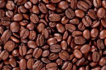 Coffee grain texture