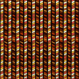 Ethnic geometric seamless pattern - vector illustration