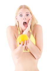 Orangenhaut schockiert