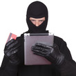 Cyber theft being commited.