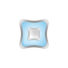 кнопка квадрат