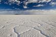 canvas print picture - Salar de Uyuni, groesster Salzsee der Welt, Bolivien